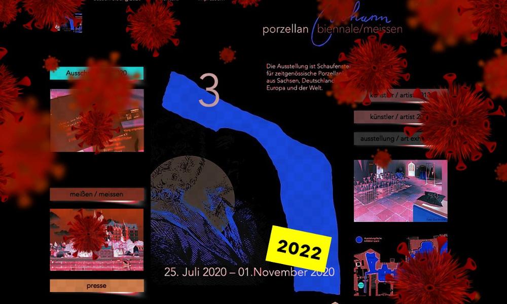 Porzellanbiennale 2020 – ein Coronaopfer