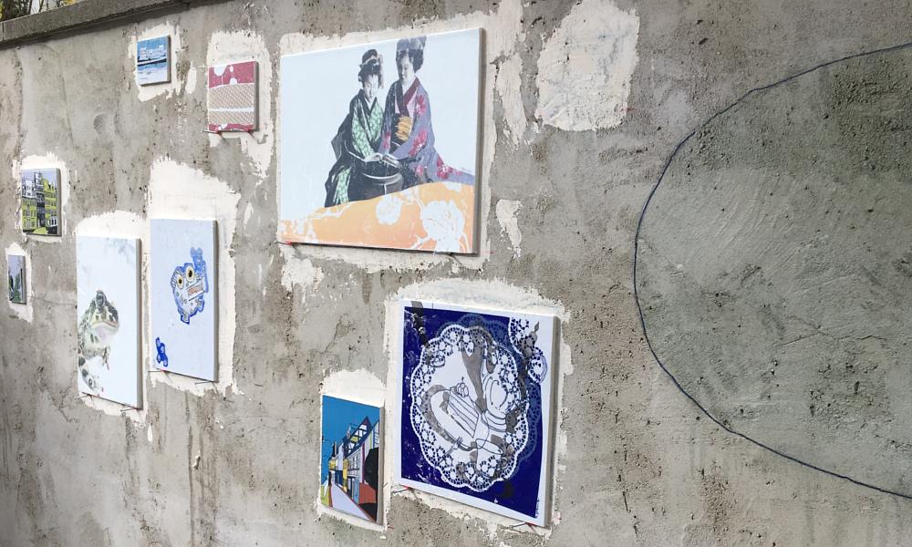 Porzellanbilder für die Wohnzimmerwand im Pocket Park