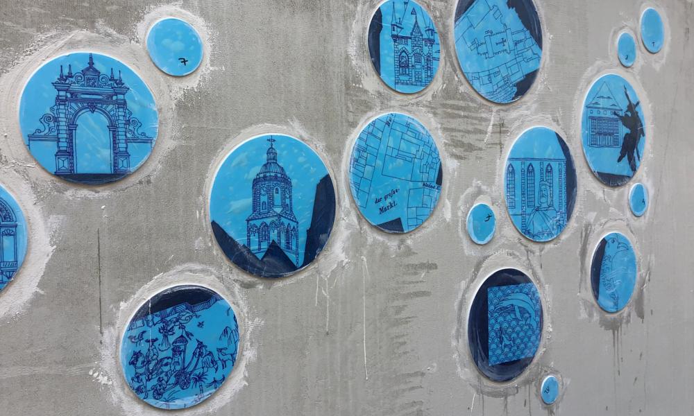 Porzellanplatten